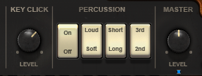 KEY CLICK・PERCUSSION